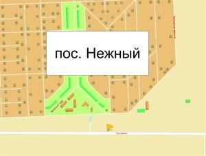 Схема к.69, Зеленая, ул. В районе пос. Нежный