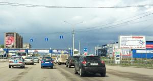 77.Ленина пр. и Завенягина ул. Пересечение юго-восточный сторона А